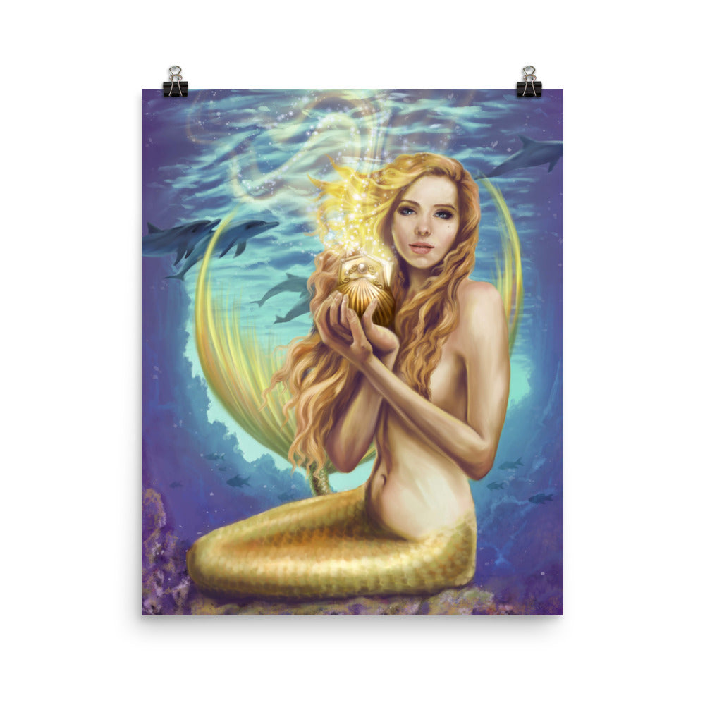 Art Print - Holding Magic