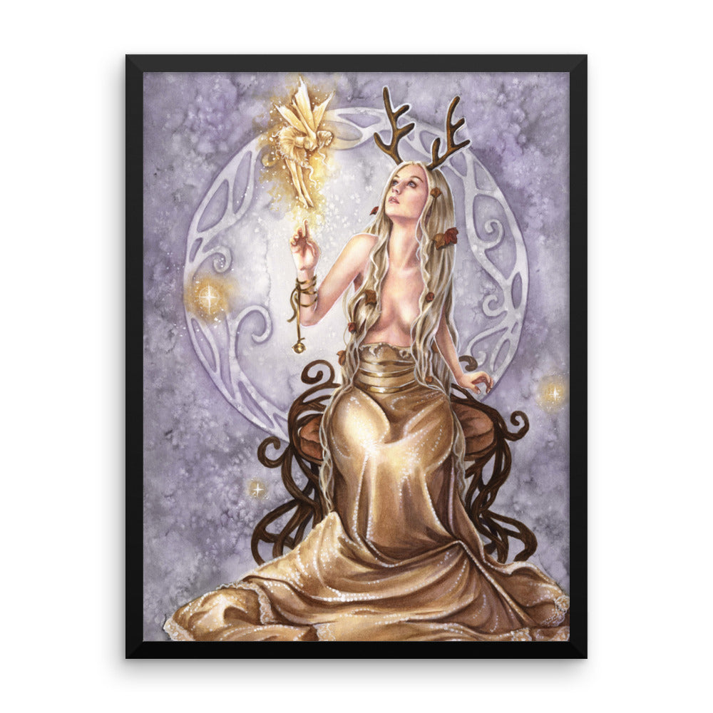 Framed Print - Golden Gift