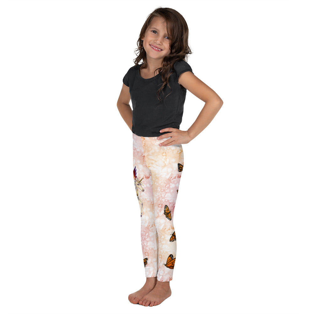 Kid's Leggings - Sunset