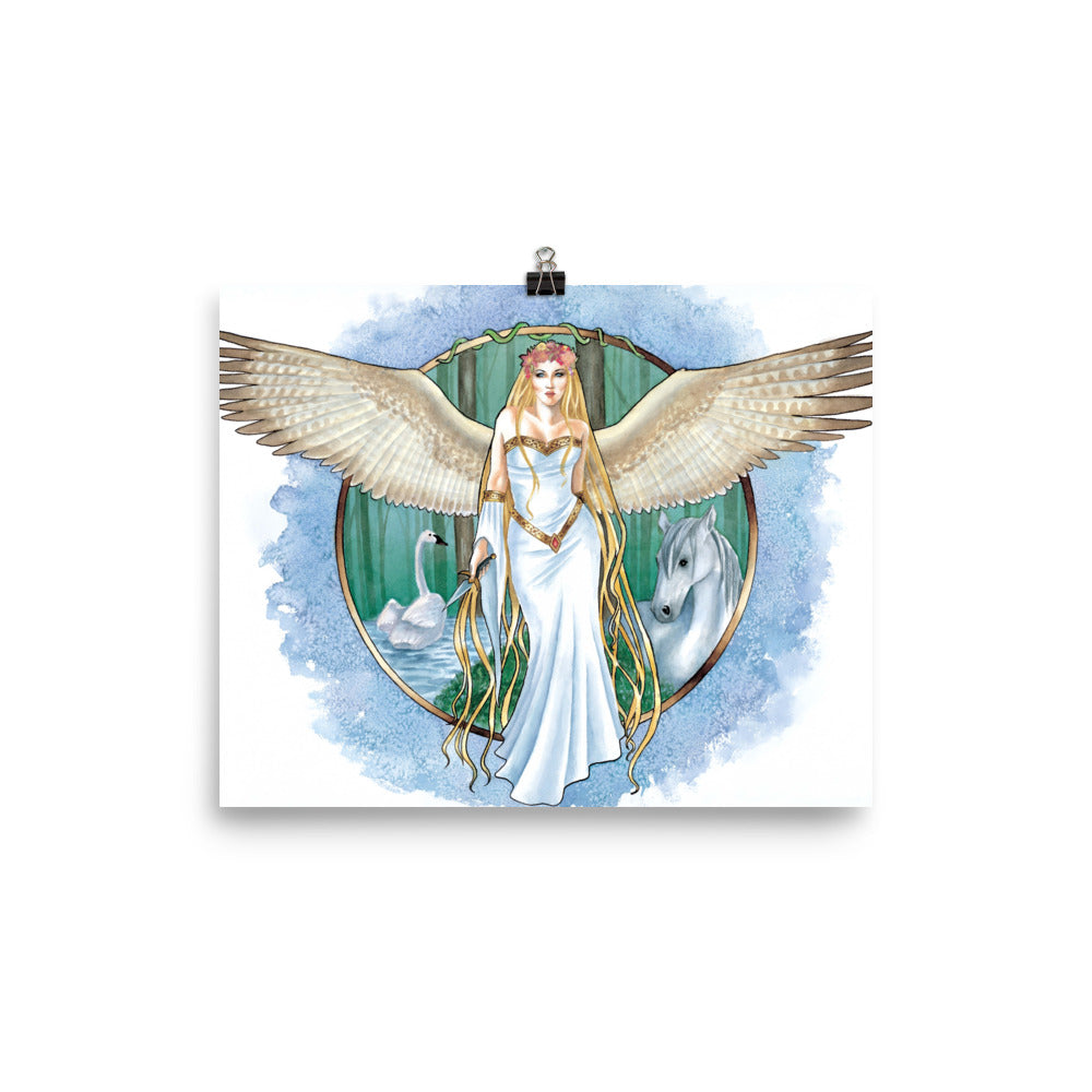 Art Print - Villa, Nature's Angel