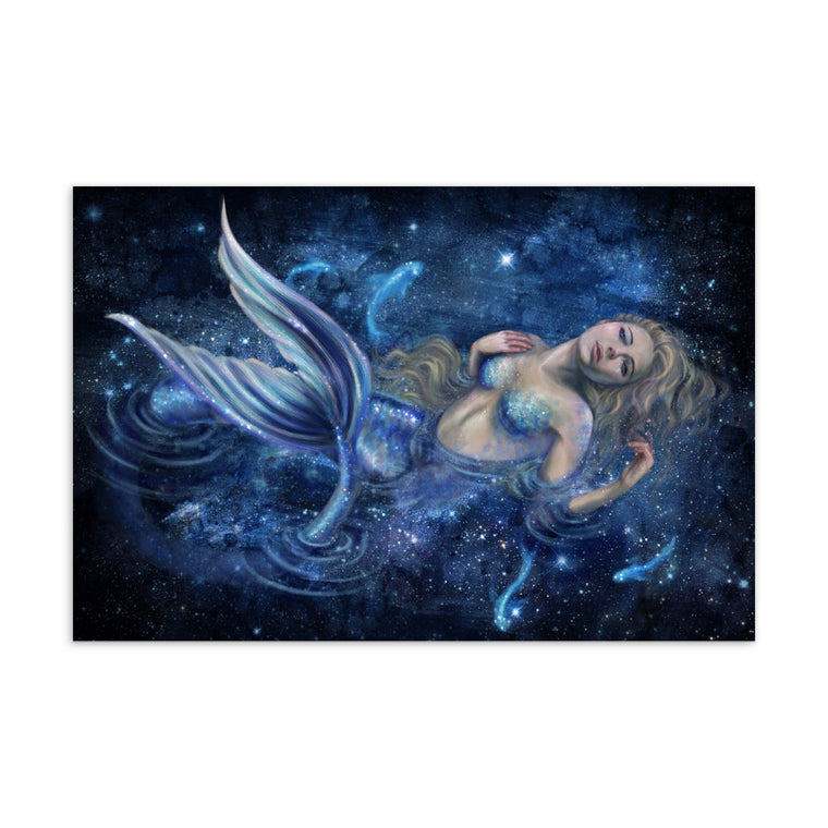Art Card - Swimming in Starlight