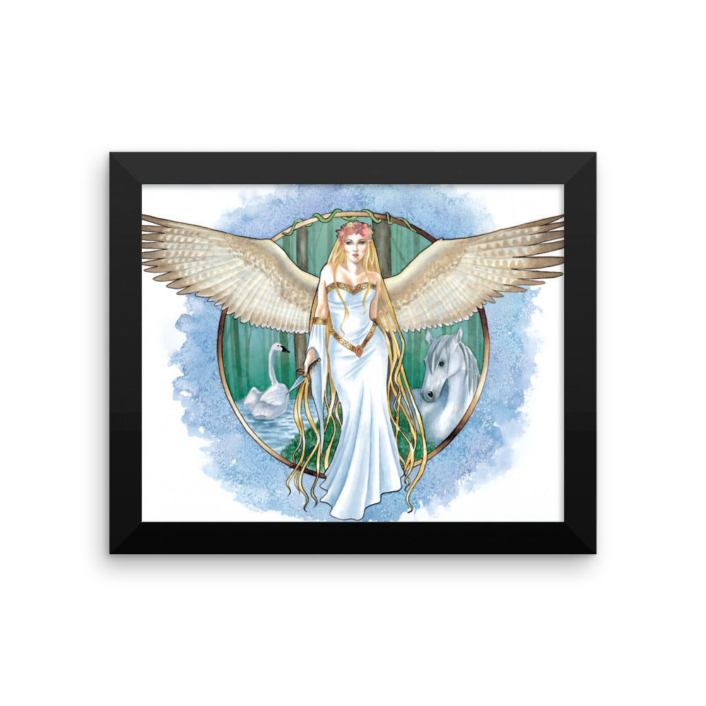 Framed Print - Villa, Nature's Angel