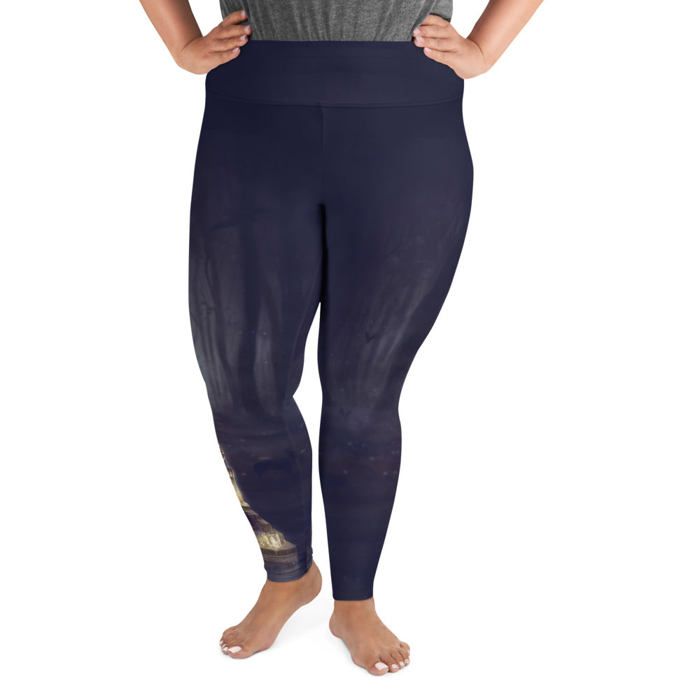 Plus Size Leggings - Storykeeper V2
