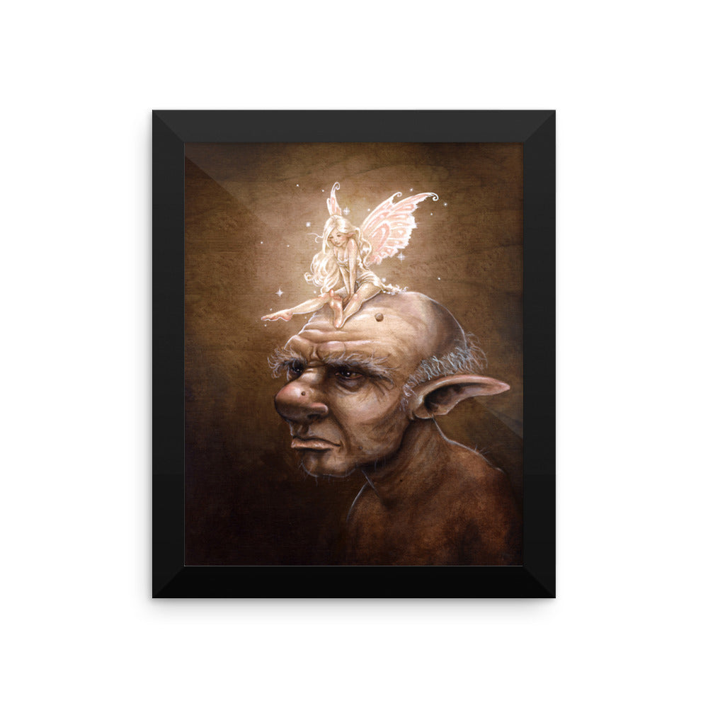Framed Print - Light the Darkness
