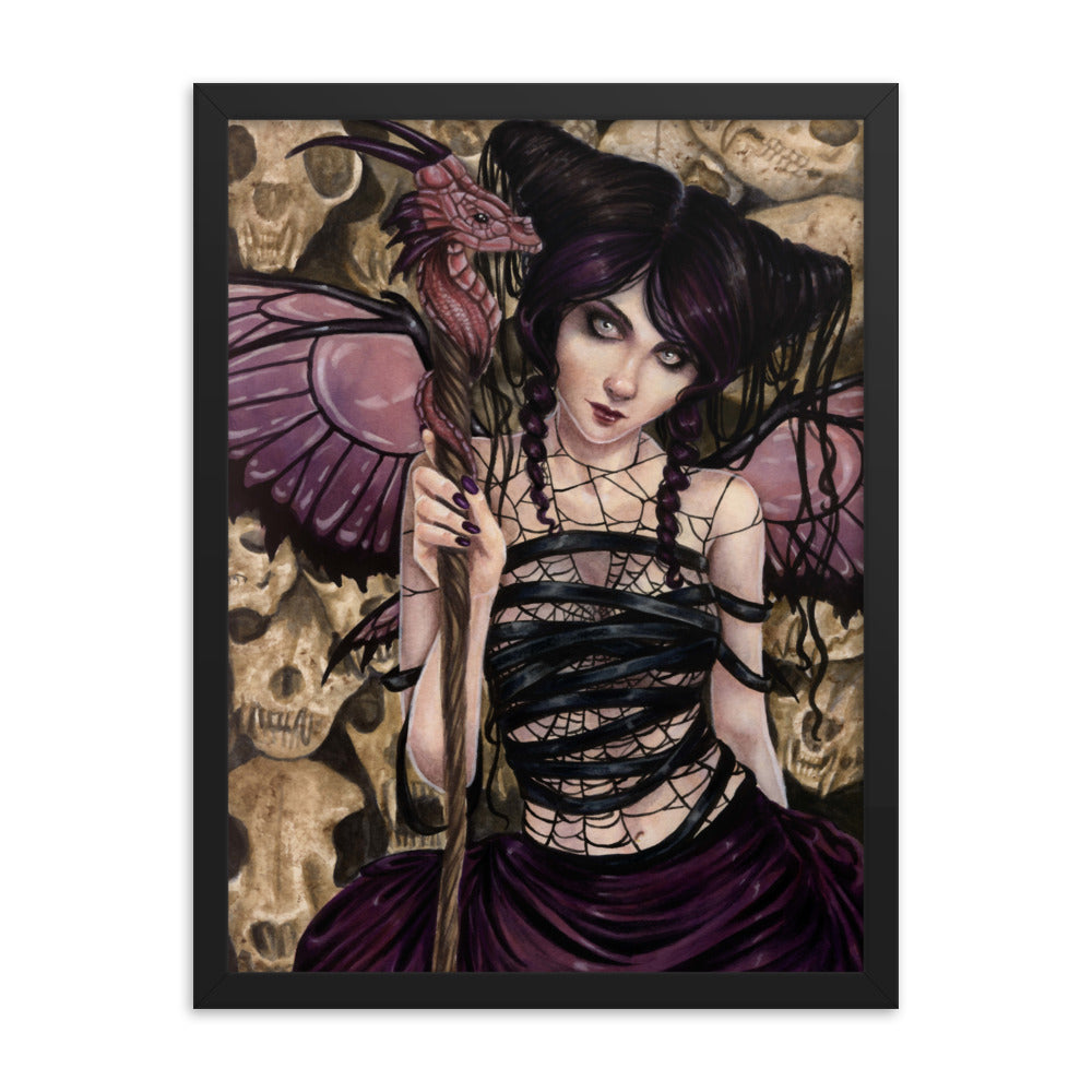 Framed Print - Darkling