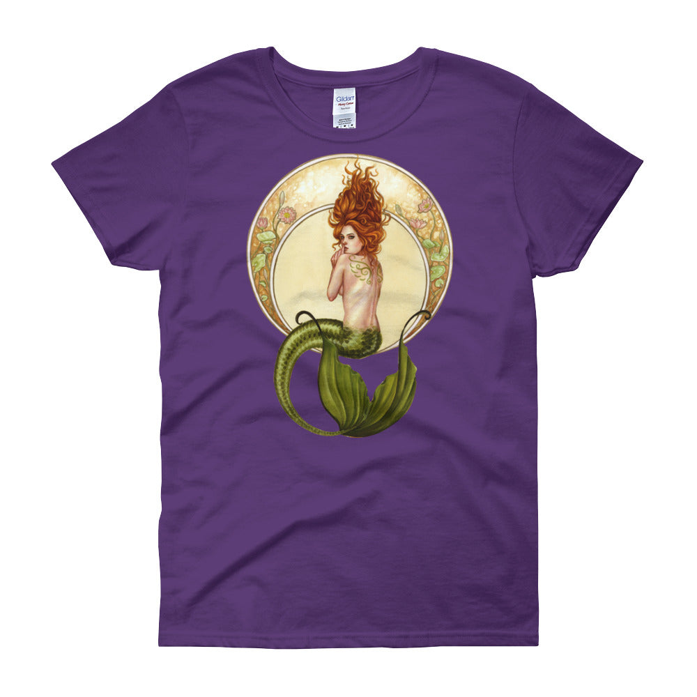 Women's short sleeve t-shirt - Underwater Secrets
