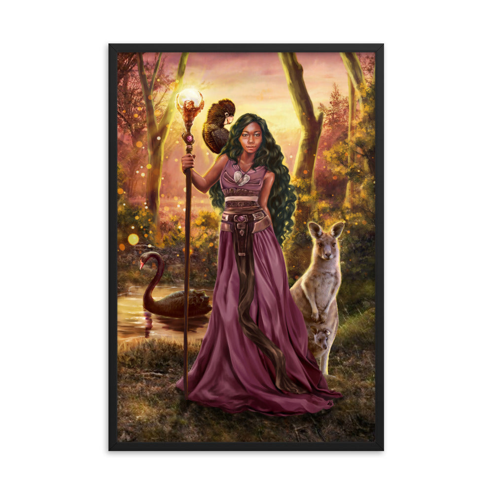 Framed Print - Custodian