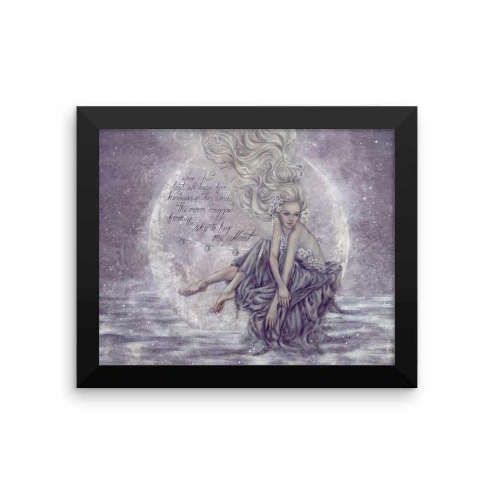 Framed Print - Moonboat