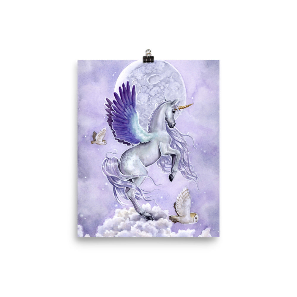 Art Print - Unicorn Sisters Moonshine