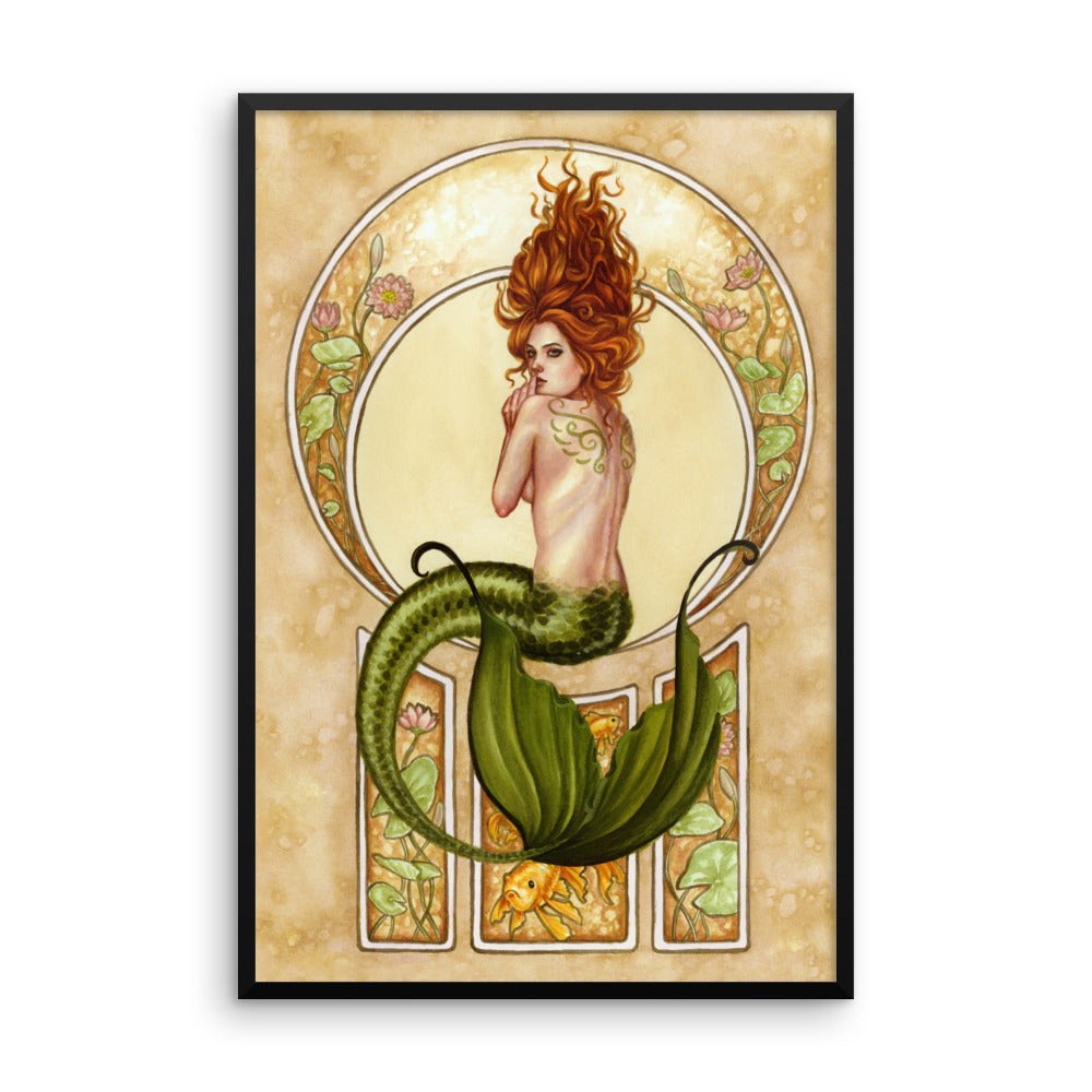 Framed Print - Underwater Secrets