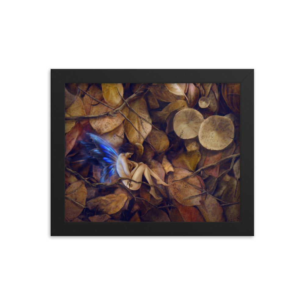 Framed Print - Autumn Slumber