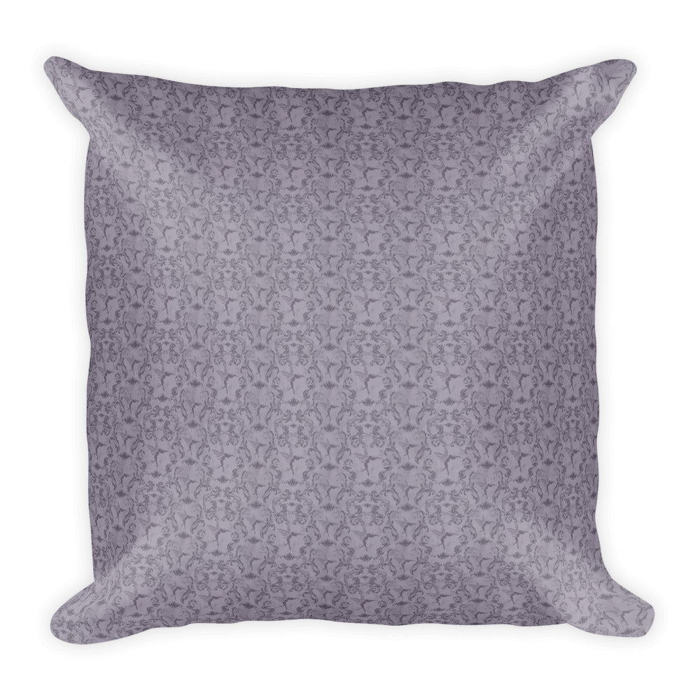 Square Pillow - Mermaid Moon