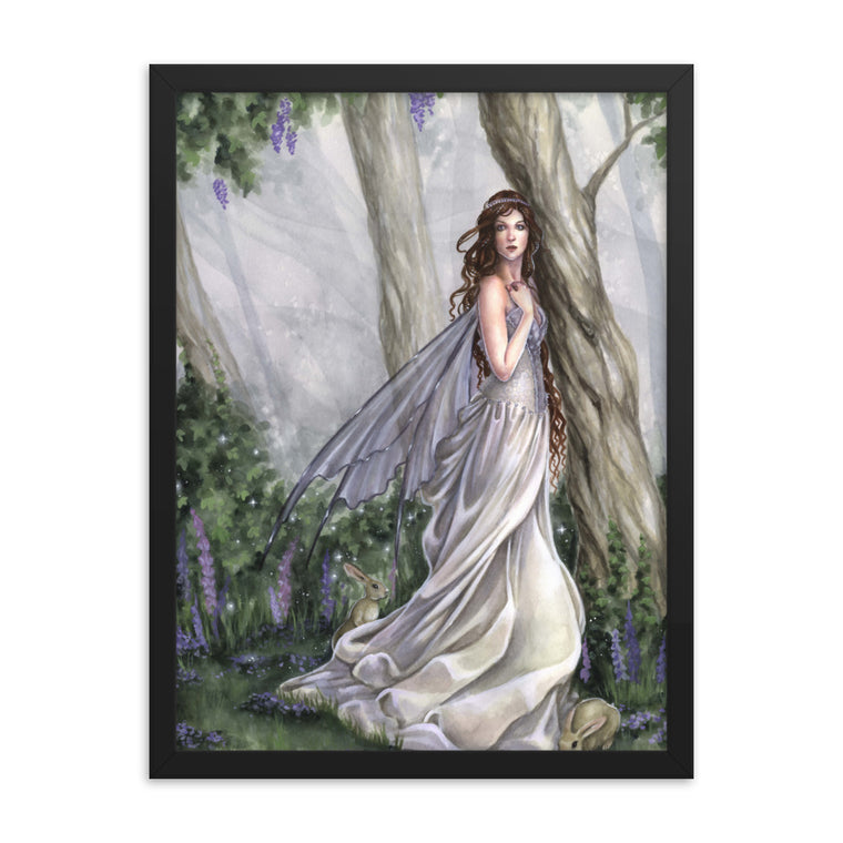 Framed Print - Into the Woods