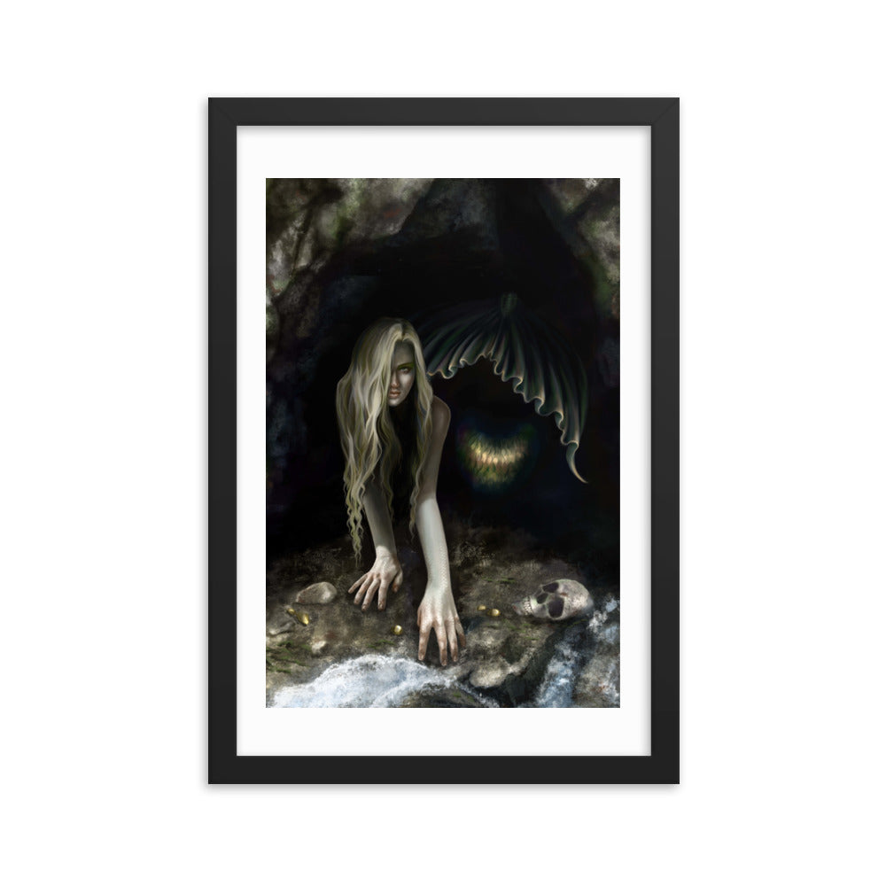 Framed Print - From Darkness