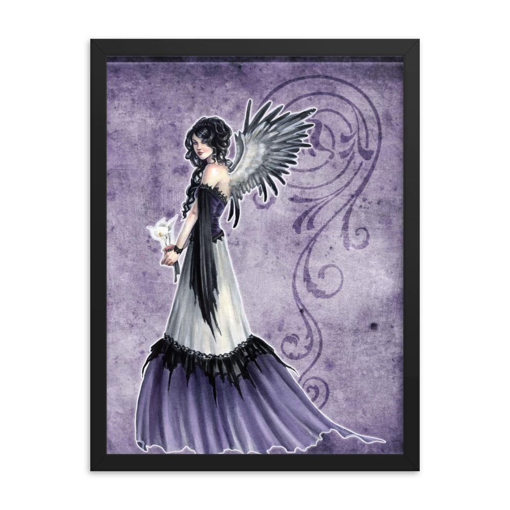 Framed Print - Choirs Angel Nephalina