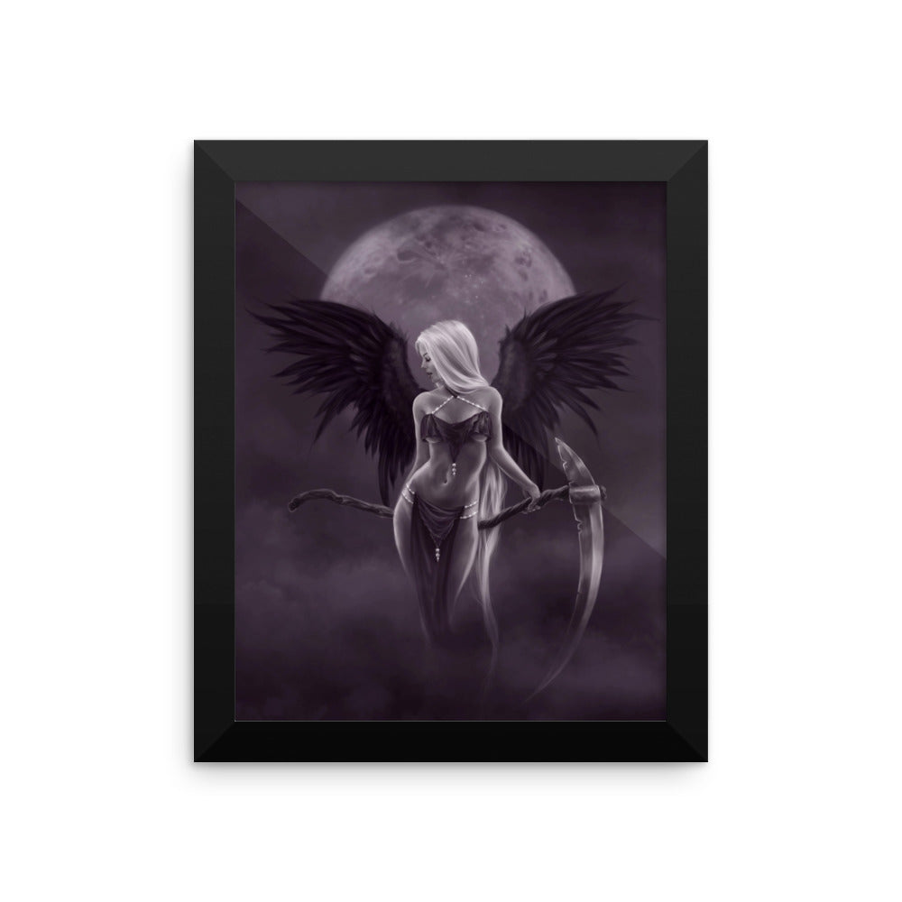Framed Print - Dark Angel