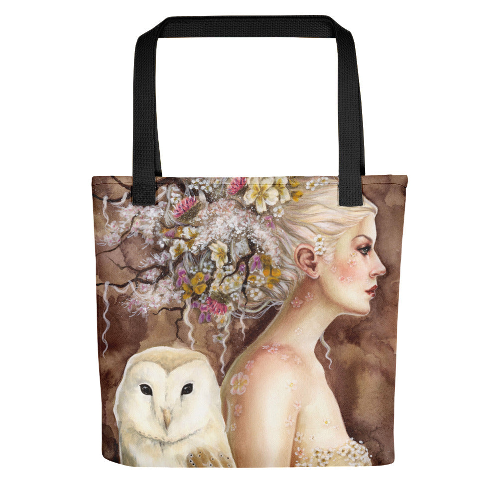 Tote bag - Blodeuwedd in Bloom