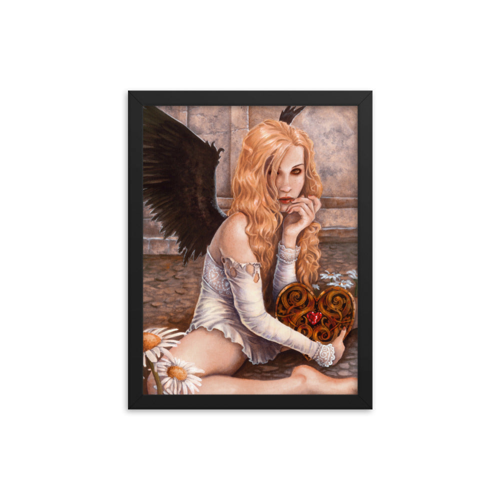 Framed Print - Clockwork Heart