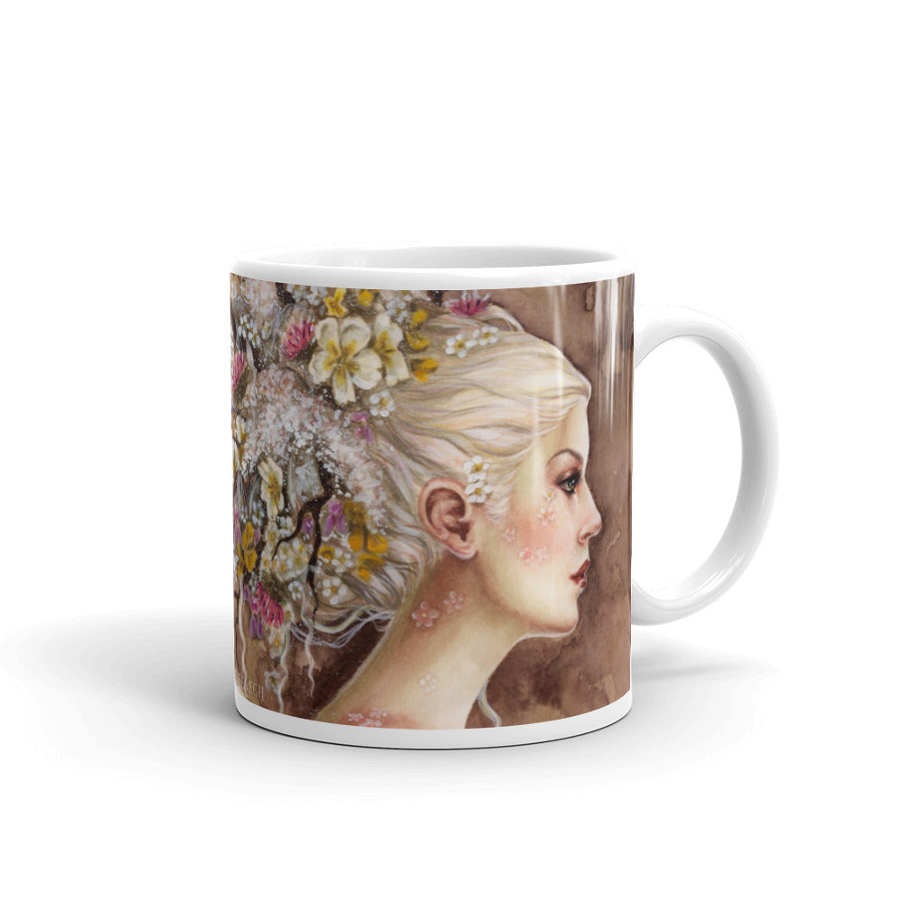 Mug - Blodeuwedd in Bloom