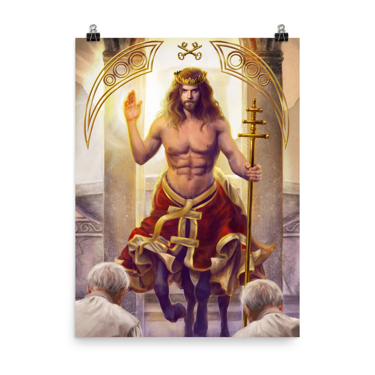 Art Print - Hierophant - 78 Tarot Mythical