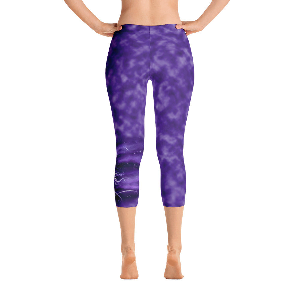Capri Leggings - Stardust