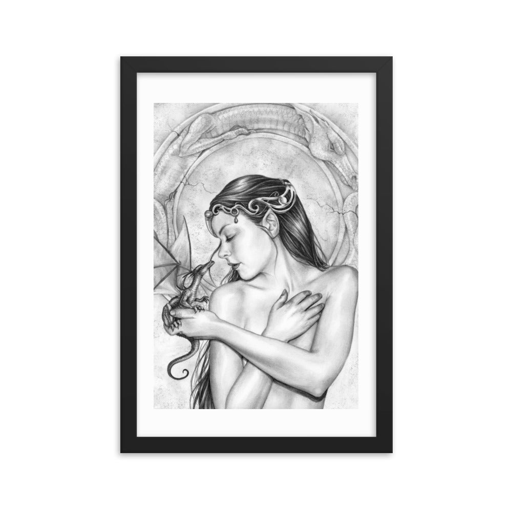 Framed Print - Dragon Soul