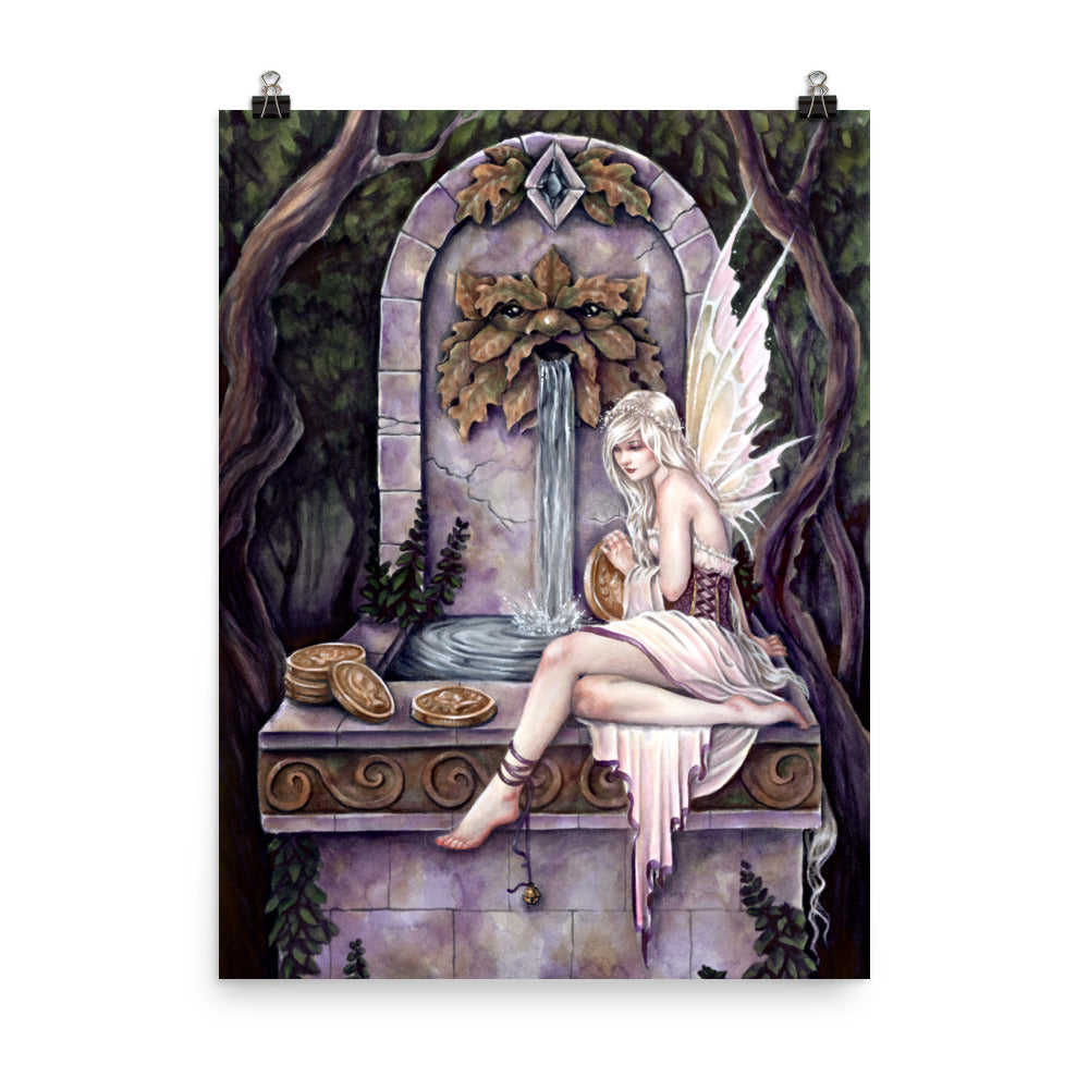 Art Print - Fairy Wishing Well