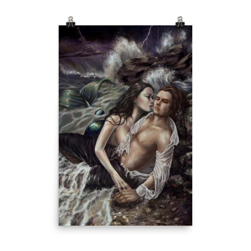 Art Print - Mermaid's Loss