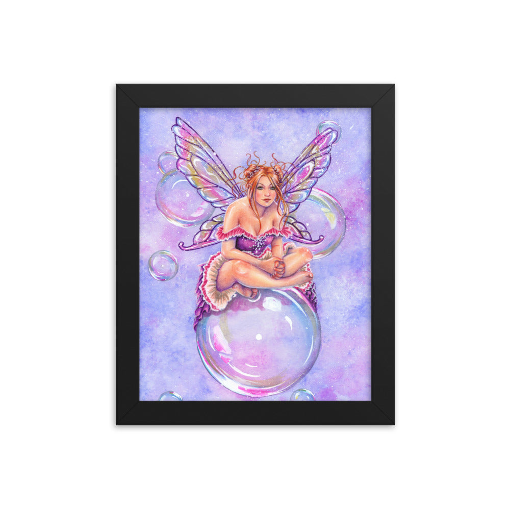 Framed Print - Bubbles
