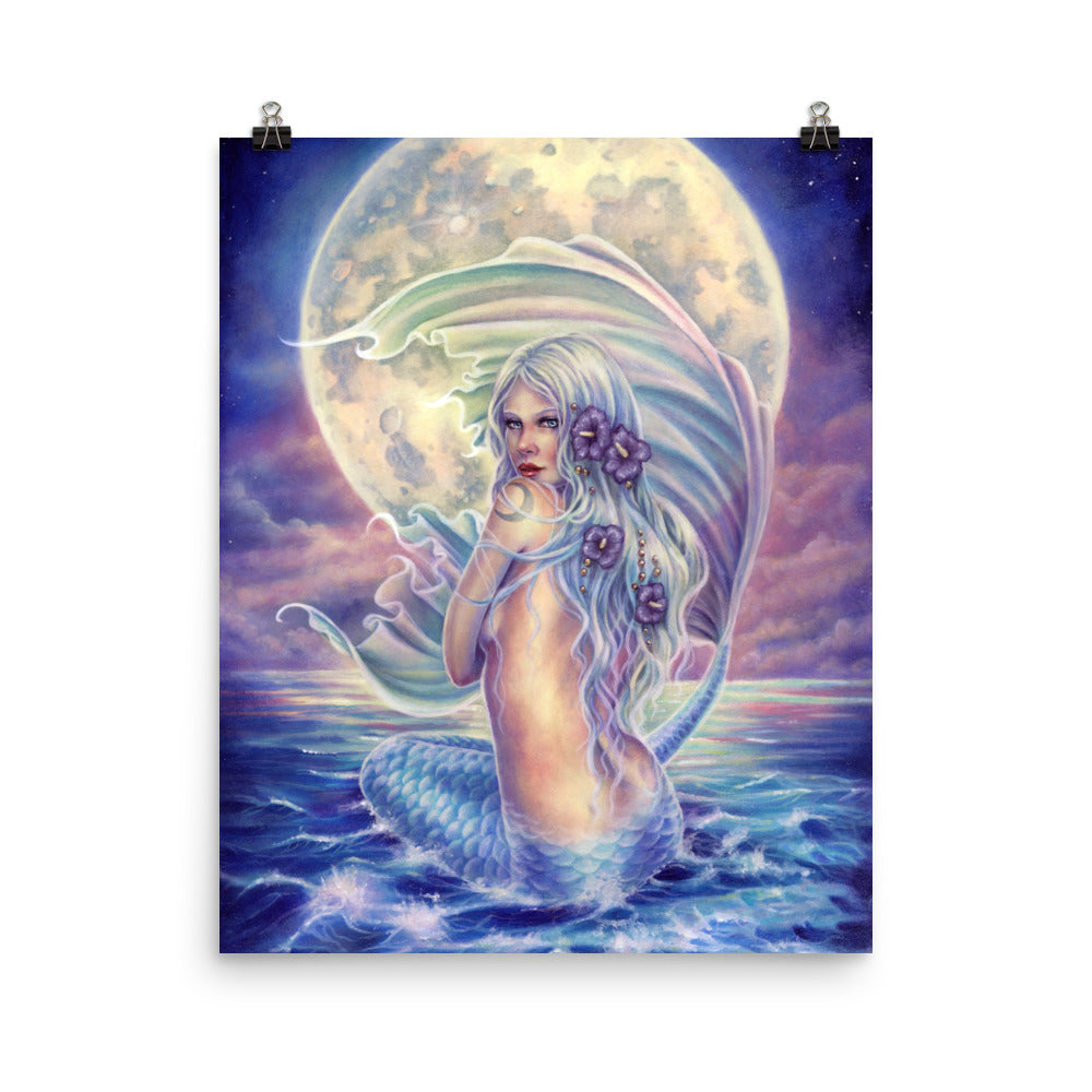 Art Print - Mermaid Moon