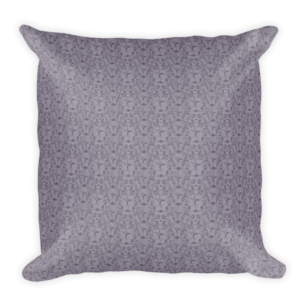 Square Pillow - Witchy Friends - colour your own