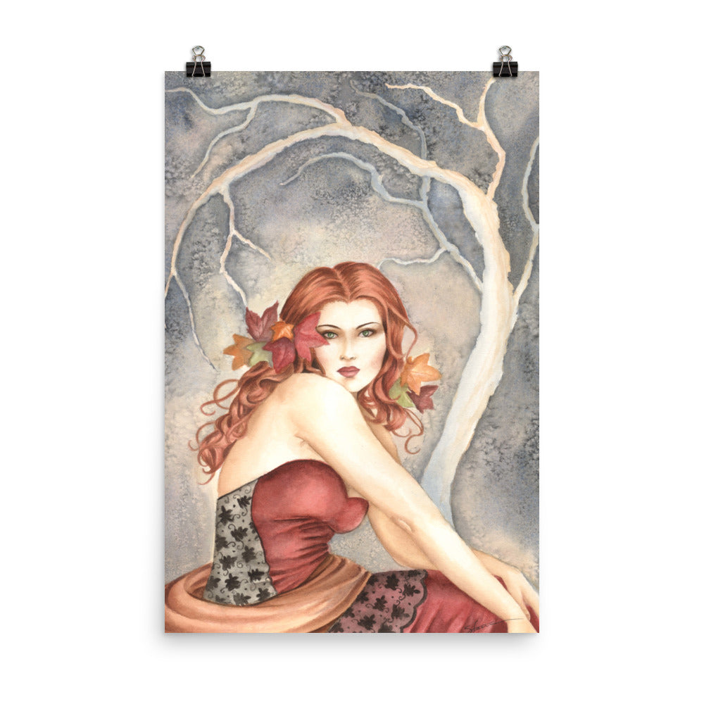 Art Print - Autumn in Lace