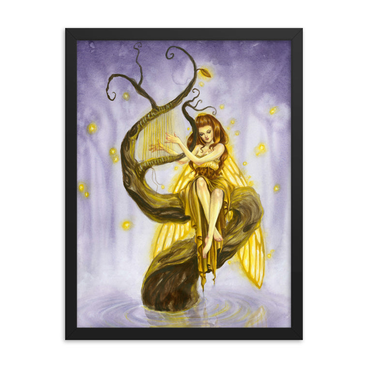 Framed Print - Firefly's Song