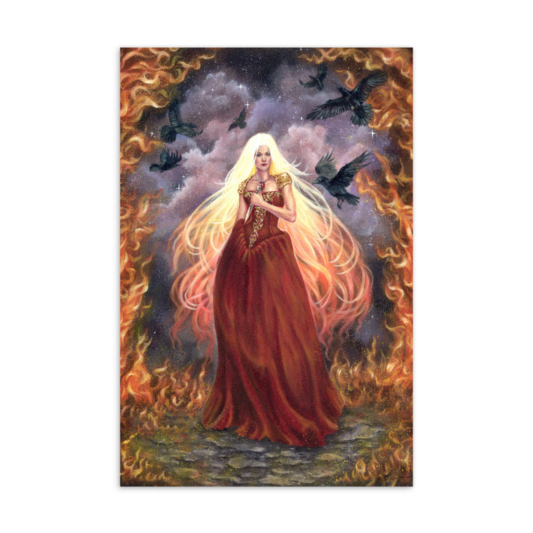 Art Card - Lady of Fire