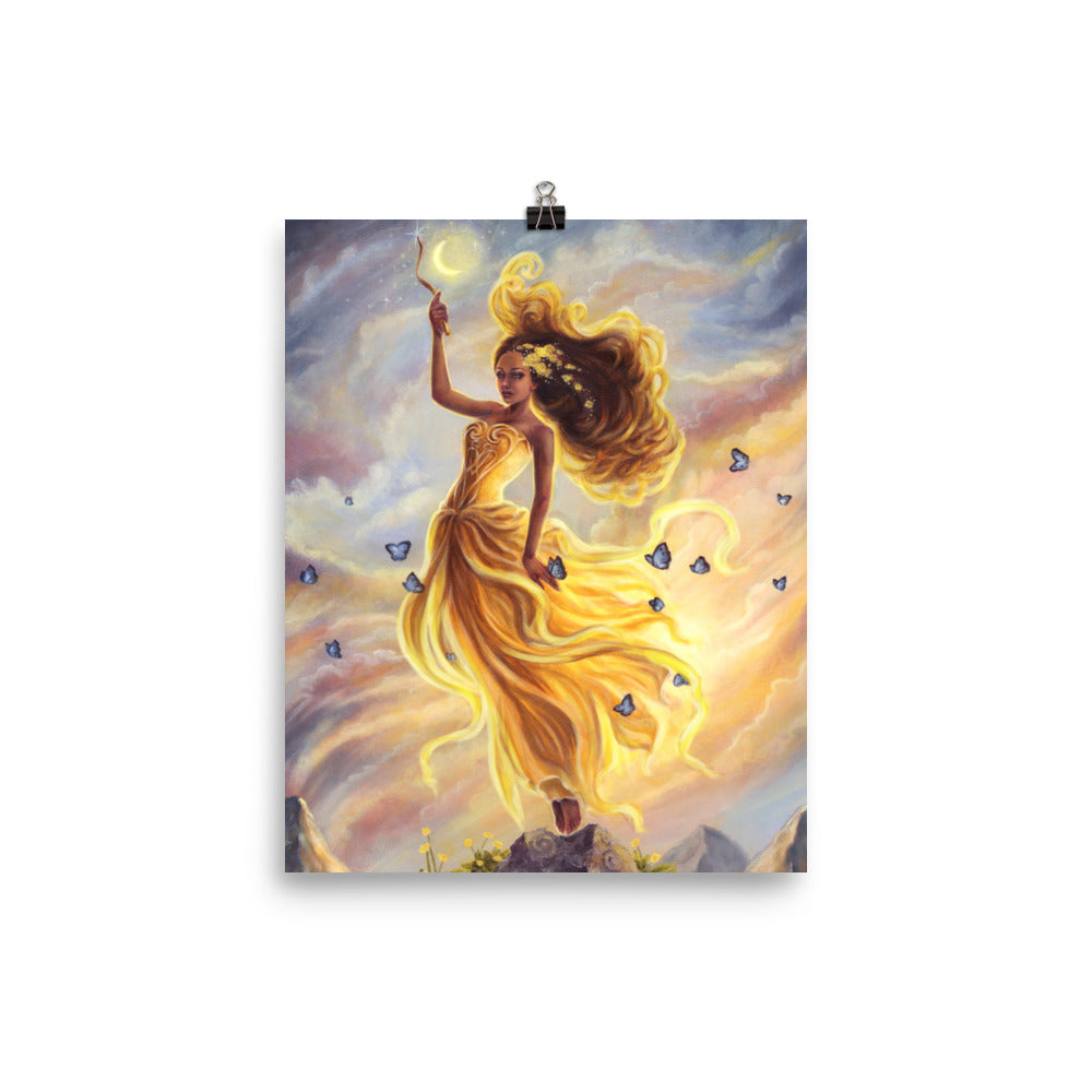 Art Print - Lady of Air
