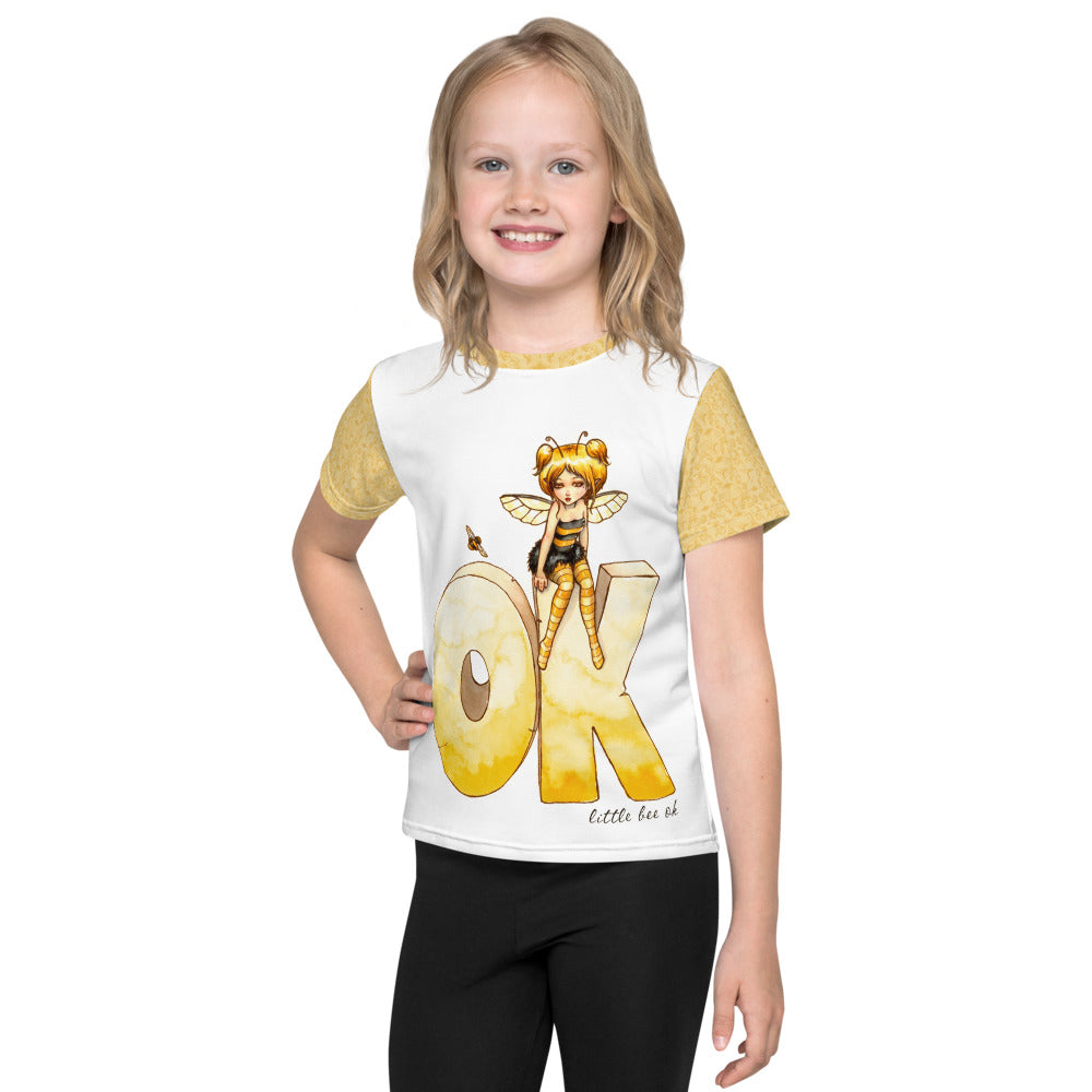 Kids T-Shirt - Little Bee Okay