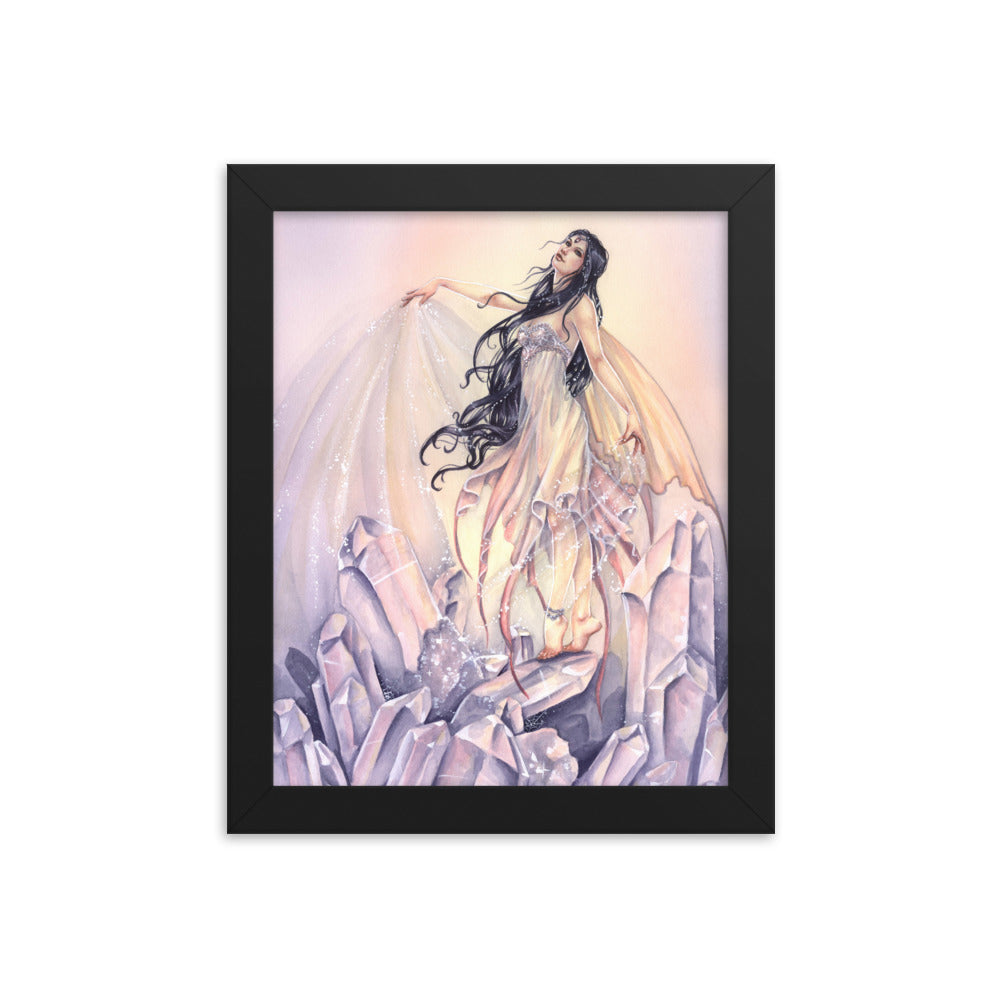 Framed Print - Crystal Magic