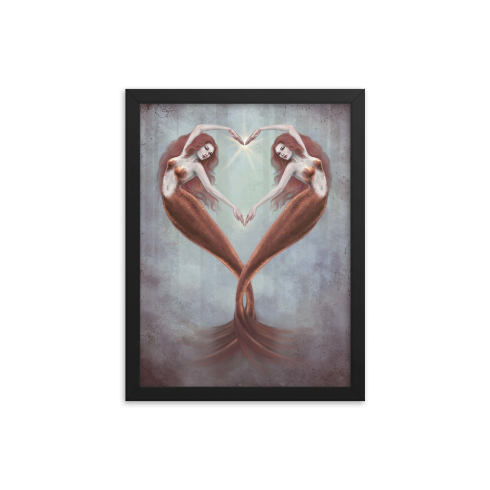 Framed Print - Heart Dance