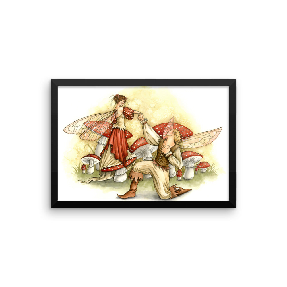 Framed Print - May I Have This Dance