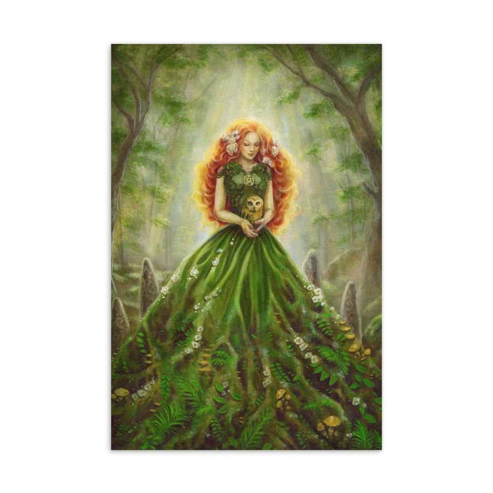 Art Card - Lady of Earth