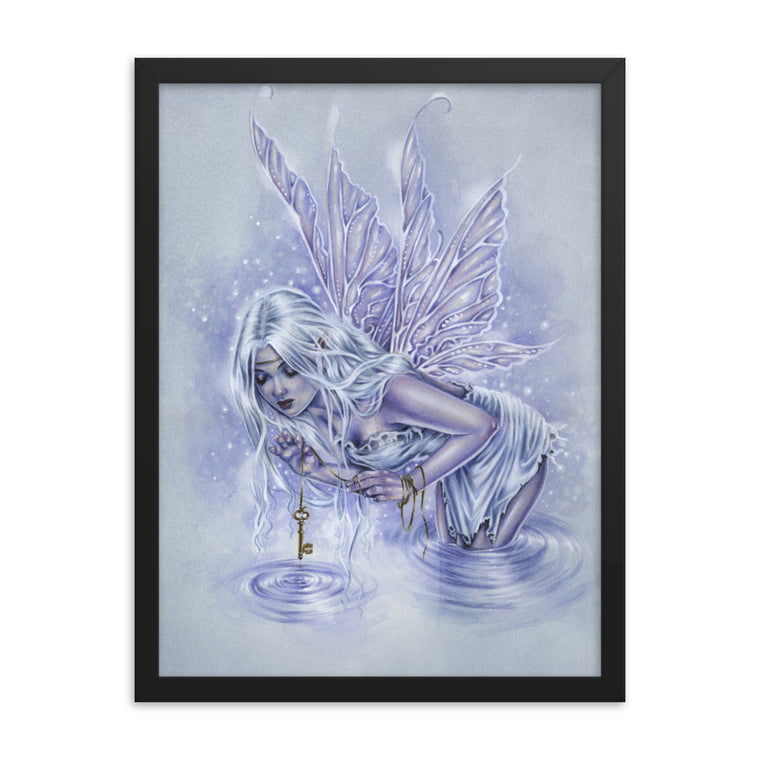 Framed Print - Fishing for Riddles