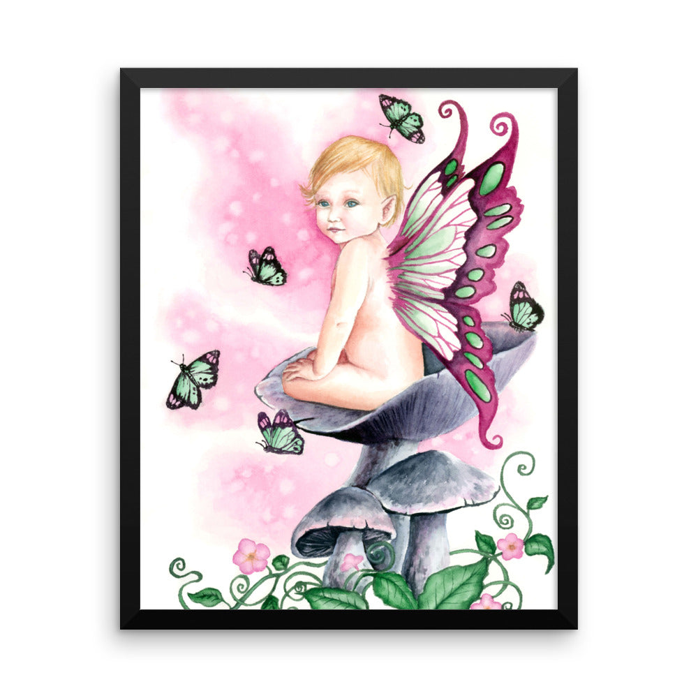 Framed Print - Pretty in Pink
