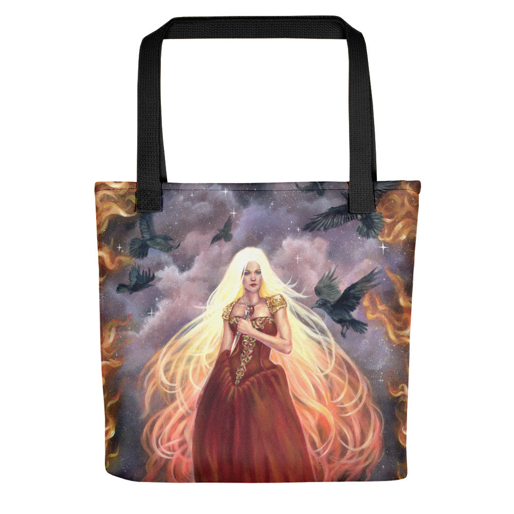 Tote bag - Lady of Fire