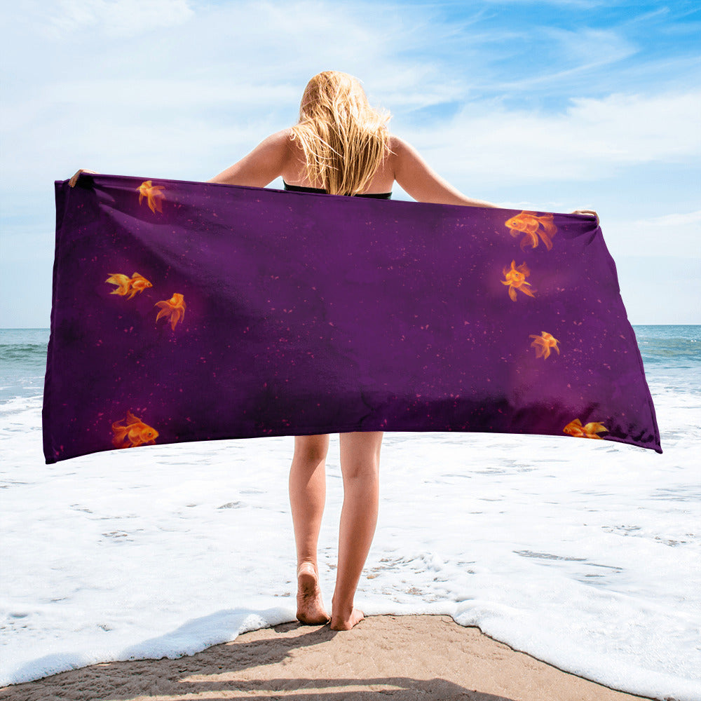 Towel - Mystic Goldfish