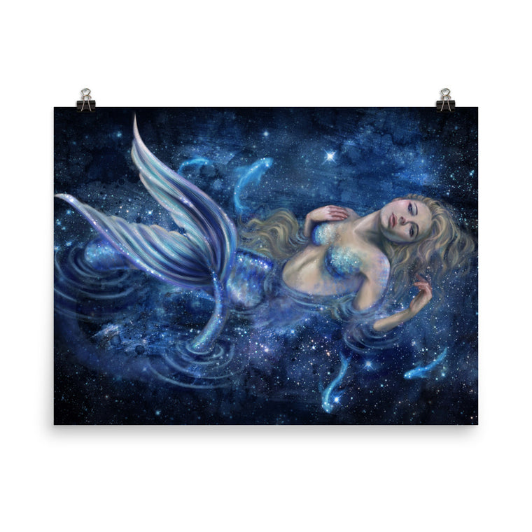 Art Print - Swimming in Starlight