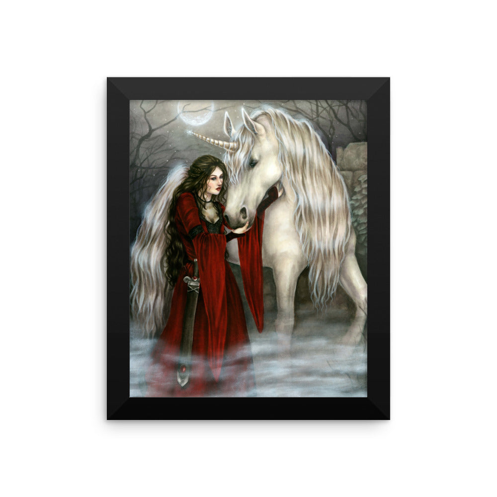 Framed Print - Morganna's Secret