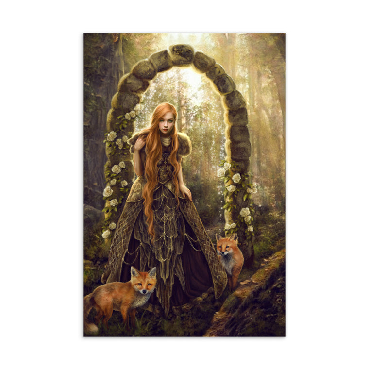 Art Card - Fox Gate