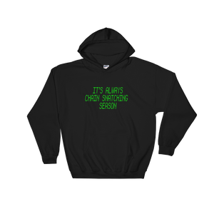 Chain Snatching Hoodie Green