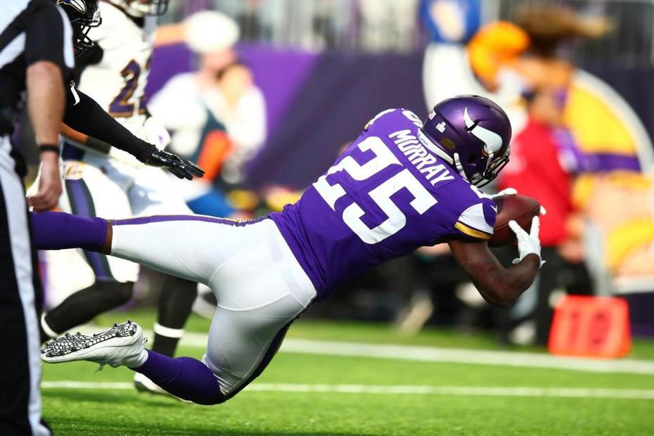 Latavius Murray Breaks Out with 100-Plus Yards, TD Against Ravens | Latavius Murray