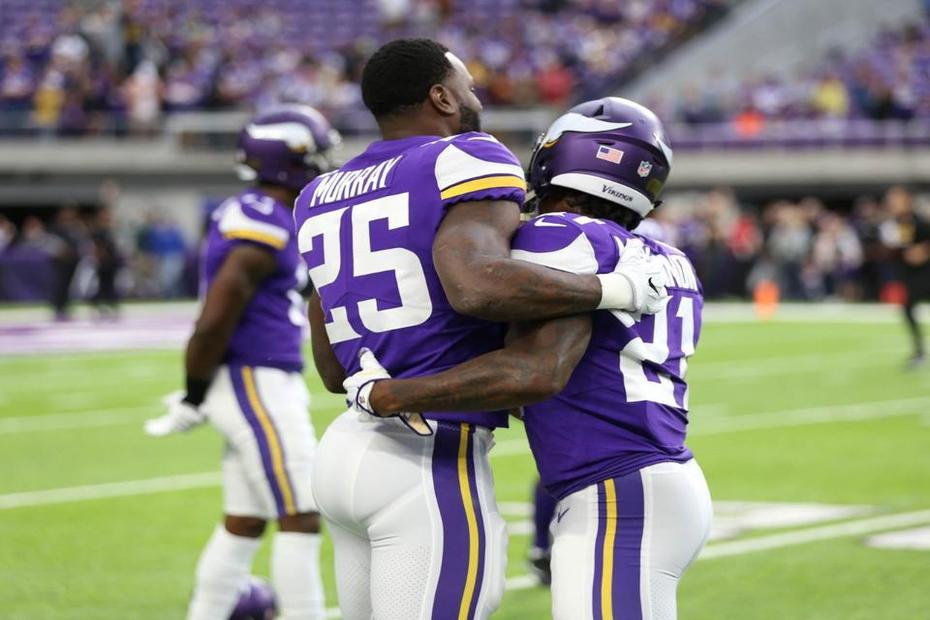 Latavius Murray Ready To Take Over For The Vikings with Dalvin Cook Out | Latavius Murray